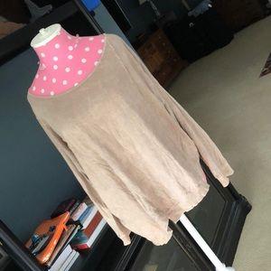 Chalet asymmetrical artisan top